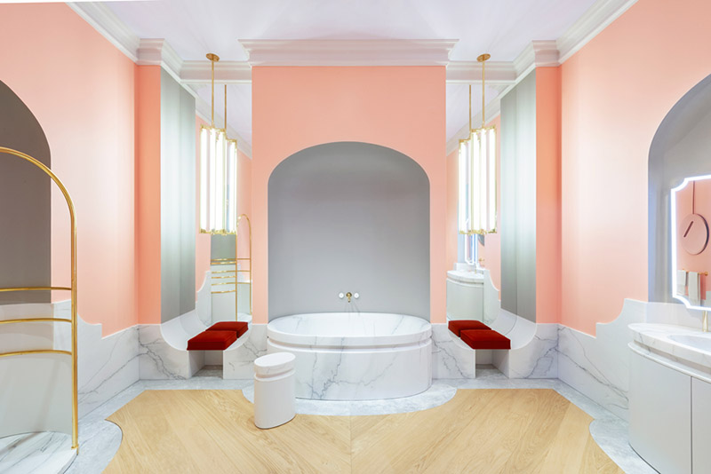 Decorating trends: the pink «millennial pink»